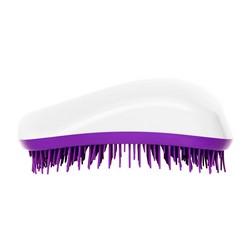 Dessata Hair Brush Original White-Purple - Расческа для волос, Белый-Фиолетовый