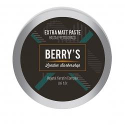 Brelil Berry's Barber Line Extra Matt Paste - Моделирующая паста с матовым эффектом, 50 мл