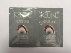 Keune Duosachet Color Brilliance - Саше шампунь и кондиционер Яркость цвета 2 x 8 мл