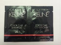 Keune Duosachet Design Color Care - Саше шампунь и кондиционер Стойкий цвет 2 x 8 мл