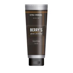 Brelil Berry's Barber Line Extra-Strong Gel - Гель экстра сильной фиксации, 100 мл