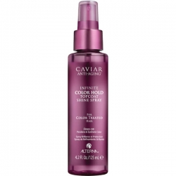 Alterna Caviar Anti-Aging Infinite Color Hold Topcoat Shine Spray - Спрей для придания блеска, 125 мл