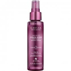 Alterna Caviar Anti-Aging Infinite Color Hold Topcoat Shine Spray - Спрей для придания блеска, 125 мл