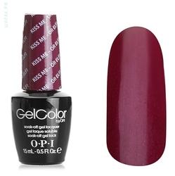 Opi GelColor Kiss Me or Elf , - Гель-лак для ногтей, 15мл
