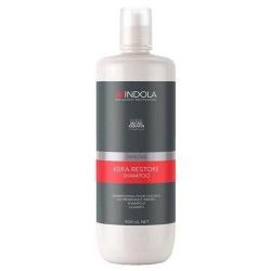 Indola Kera Restore Shampoo - Шампунь кератиновое восстановление, 1000 мл