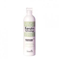 Nouvelle Keratin Technology Deep Conditoner with Argan Oil - Кератиновый кондиционер с аргановым маслом, 250 мл