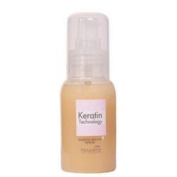 Nouvelle Keratin Technology Health Serum with Argan Oil - Восстанавливающая сыворотка с гидролизированным кератином и аргановым маслом, 60 мл