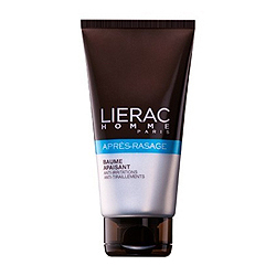 Lierac Homme Baume Apaisant Apres-Rasage Hydratant Anti-Irritations - Успокаивающий бальзам после бритья 75 мл