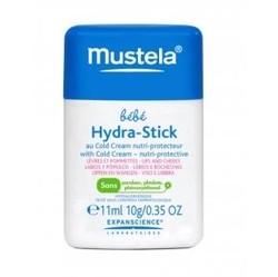 Mustela Bebe - Стик для губ и щечек с кольд-кремом, 11 мл