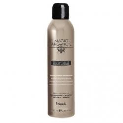 Nook Restructuring Fixing Mousse - Мусс для укладки волос средней фиксации Магия Арганы, 250 мл