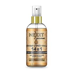 Nexxt Professional Nectar Spray-Care 14 in 1 with Extra Hold - Спрей-уход 14в1 с экстрасильной фиксацией , 120 мл