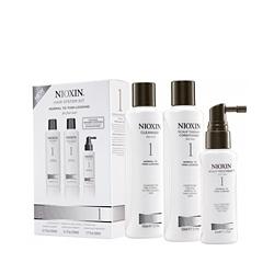 Nioxin System 1 Kit - Набор (Система 1) 150 мл+150 мл+50 мл. Общий объем: 350 мл