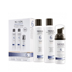 Nioxin System 6 Kit - Набор (Система 6) 150 мл+150 мл+40 мл. Общий объем: 340 мл