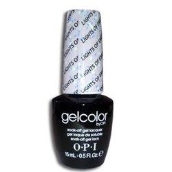 Opi GelColor Lights of Emerald City, - Гель-лак для ногтей, 15мл