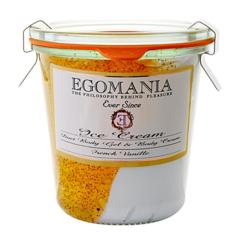 Egomania Exfoliation and body cream (cream) French Vanilla - Пилинг и Крем для тела (Мороженое) Французская Ваниль 290 мл
