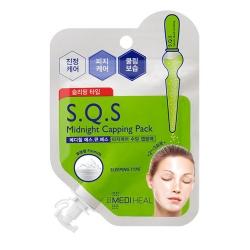 Mediheal S.Q.S Midnight Capping Pack - Маска ночная для проблемной кожи лица, 15 мл