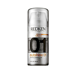 Redken Outshine 01 - Выпрямляющее молочко с эффектом анти-фриз 100 мл