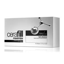 Redken Cerafill Maximize Hair Advance - Ампулы двойного действия против истончения волос, 10 по 6 мл