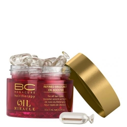 Schwarzkopf BC Oil Miracle Brazilnut Oil Booster - Активатор-концентрат масла бразильского ореха, 15*1 мл