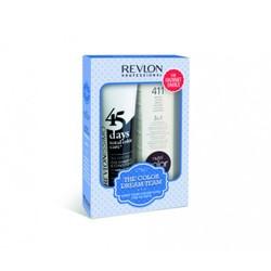 Revlon Revlonissimo Color Care  - Набор для темных волос: шампунь-кондиционер, коктейль-крем 3 в 1 (The Color Dream Team Kit For Radiant Darks), 275мл+ 100мл