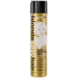 Sexy Hair Sulfate-Free Bombshell Blonde Shampoo - Шампунь для сохранения цвета светлых волос, 50 мл