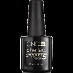 "CND - Верхнее покрытие ""CND SHELLAC Xpress5 Top Coat"" 15 мл"