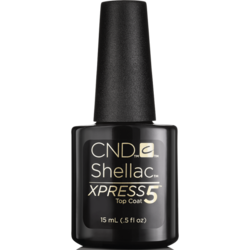 "CND - Верхнее покрытие ""CND SHELLAC Xpress5 Top Coat"" 7,3 мл"