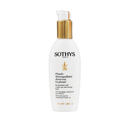 Sothys Bi-Phased Soft Make-Up Removing Fluid - Жидкость нежная очищающая 2-фазная для снятия макияжа с глаз и губ 100 мл