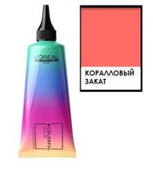L'oreal professionnel Colorful Hair Sunset Coral - Полуперманентное окрашивание, Коралловый закат, 90 мл