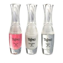 Trind French Manicure Set Pink - Набор для французского маникюра (розовый) 3*9 мл. Общий объем: 27 мл