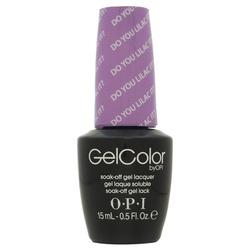 Opi GelColor Do You Lilac It?, - Гель-лак для ногтей, 15мл