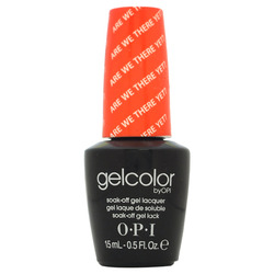 Opi GelColor Are We There Yet?, - Гель-лак для ногтей, 15мл
