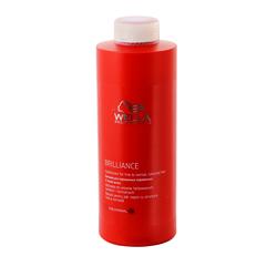 Wella Brilliance Line Бальзам для окрашенных нормальных и тонких волос 1000 мл