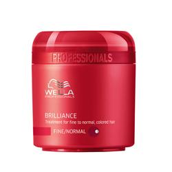 Wella Brilliance Line Крем-маска для окрашенных нормальных и тонких волос 150 мл