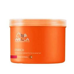 Wella Enrich Line Питательная крем-маска для нормальных и тонких волос 500 мл