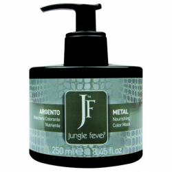 Jungle Fever Color Mask Metal - Питающая тонирующая маска для волос, тон серебристый, 250 мл