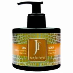 Jungle Fever Color Mask Gold - Питающая тонирующая маска для волос, тон золотой, 250 мл
