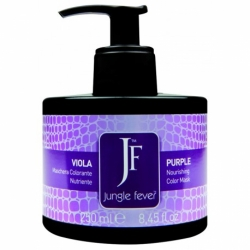 Jungle Fever Color Mask Purple - Питающая тонирующая маска для волос, тон пурпурный, 250 мл
