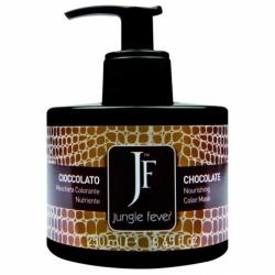 Jungle Fever Color Mask Chocolate - Питающая тонирующая маска для волос, тон шоколадный, 250 мл