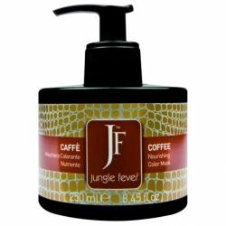 Jungle Fever Color Mask Coffee - Питающая тонирующая маска для волос, тон кофейный, 250 мл