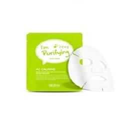 Skin79 AC Calming mask sheet - Тканевая маска очищающая и успокаивающая, 23мл