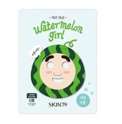 Skin79 Fruit mask Watermelon Girl - Тканевая маска для лица с натуральным экстрактом арбуза, 23г