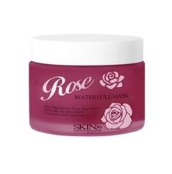 Skin79 Rose Waterfull Mask - Улажняющая маска для лица с дамасской розой, 75 мл