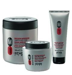 Echos Line M1 After -Colour Mask - Маска после окрашивания и для окрашенных волос нейтральный PH, 1000 мл