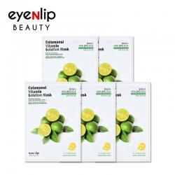 Eyenlip Calamansi Vitamin Solution Mask - Витаминная тканевая маска с экстрактом каламанси, 25 мл