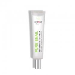 Eyenlip Pure Snail Recovery Eye Cream - Улиточный восстанавливающий крем для кожи вокруг глаз, 30мл