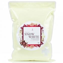Anskin Premium Snow White Modeling Mask - Маска альгинатная осветляющая в пакете, 1000 г