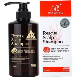 Mstar Rescue Scalp Shampoo - Укрепляющий шампунь против выпадения волос, 500мл