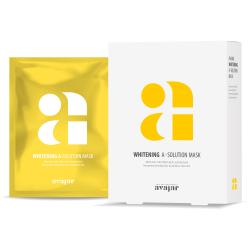 Avajar Whitening A-Solution Mask - Маска тканевая осветляющая для лица 1 шт