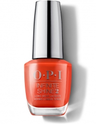 OPI Lisbon Infinite Shine - Лак для ногтей A Red-vival City, 15 мл
